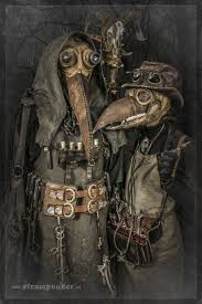 Steampunk Halloween Costumes Steampunk Plague Doctor Costume Creepy Halloween Costumes