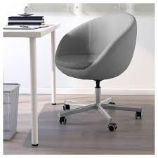 Ikea Office Swivel Chair Skruvsta Swivel Chair Flackarp Grey Ikea