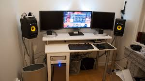 How To Build A Home Studio Desk by Build Studio Desk Ikea Best Home Furniture Decoration