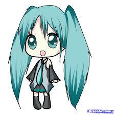 Halloween Pics To Draw How To Draw Chibi Miku Step By Step Chibis Draw Chibi Anime