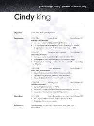 resume templates for openoffice jospar
