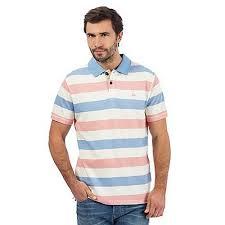 mantaray clothing bring comfortable clothing tog 24 navy stripe polo shirt