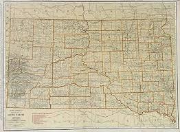 south dakota road map rand mcnally junior auto road map of south dakota