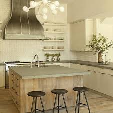 reclaimed wood kitchen islands reclaimed wood kitchen island with concrete countertop eat your