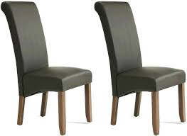 leather dining chair black leather dining chairs uk