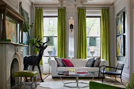 Living Room Ceiling Ls High Ceiling Curtains Green Robinson House Decor Gorgeous