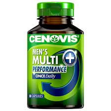 men s buy once daily men s multi performance 50 capsules by cenovis