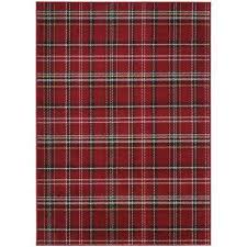 Plaid Area Rug Plaid Area Rugs Rugs The Home Depot