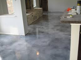 gray stained concrete floors decor with dark grey stained concrete