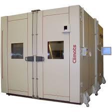 chambre climatique enceinte thermique pour essai chaud froid gamme volume à 3m