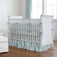 solid robin u0027s egg blue crib bedding carousel designs