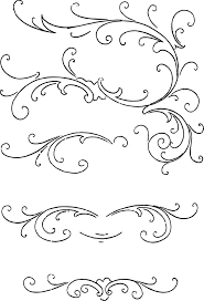 free clip calligraphy ornaments vector and images graphics