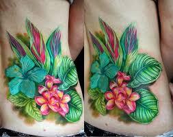 Tropical Themed Tattoos - best 25 tropical tattoo ideas on pinterest palm tree tattoos