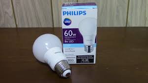 review philips led light bulb 60w youtube
