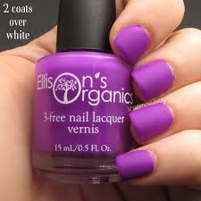matte purple nail polish glow in the dark nail polish vegan