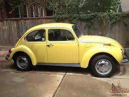 volkswagen bug yellow 1972 vw volkswagen super beetle unrestored survivor