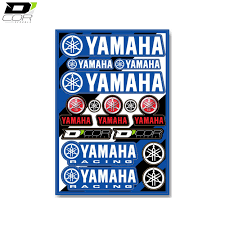 buy motocross bikes uk universal logo sticker sheets yamaha yz yzf motocross bikes