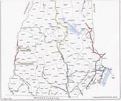 Boston Train Map by Nhrra New Hampshire Railroad Map