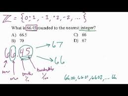 rounding integer numbers rounding to the nearest integer