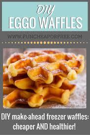 Eggo Toaster Waffles Diy Eggo Waffles Breakfast Hack Straight From Heaven Foodie