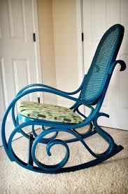 Patio Rocking Chairs Wood Wicker Rocking Chair Outdoor Classic Wicker Rocking Chair Rocking