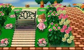 acnl shrubs animal crossing new leaf qr code paths pattern acnl pinterest