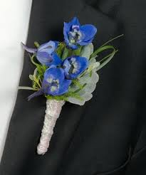 blue boutonniere about boutonnieres at walter knoll florist louis florist