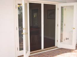 Exterior Single French Door by Home Design Patio French Doors With Screens Transitional Compact