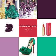 Green Color Scheme by Glam Palette Purple Green U0026 Red U2014 Event 29