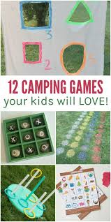 12 fun camping games kids will love for kids outdoor fun and rv