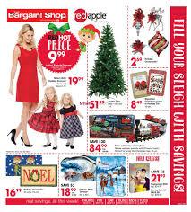 the bargain shop u0026 red apple flyer november 12 to 17