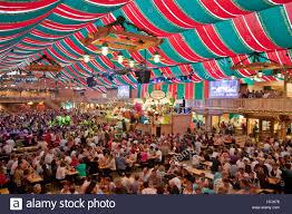 Baden Schwaben Crowded Beer Tent At The Stuttgart Beer Festival Schwabenwelt