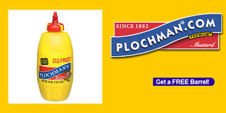 plochman s mustard free barrel of plochman s mustard fetch deals daily specials