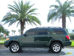 2002 toyota sequoia limited for sale 2002 toyota sequoia limited in imperial jade green mica 084395