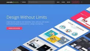 envato elements review graphics illustrations and templates for