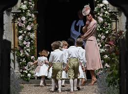 pippa middleton wedding kate middleton wears pink dress time