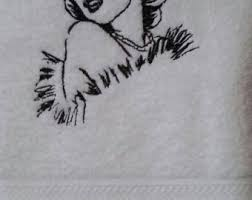 Marilyn Monroe Bathroom Set Marilyn Monroe Etsy