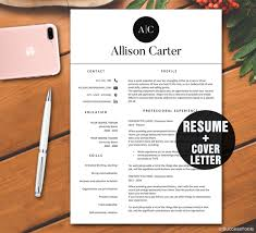 Download Resume Templates For Mac Resume Template Instant Download Cv Template Resume Template For
