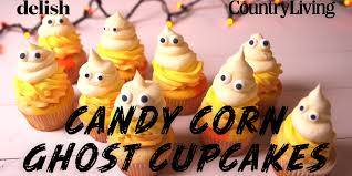 halloween peeps candy candy corn cupcake recipe how to make candy corn cupcakes