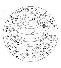 mandalas coloring pages for kids to print u0026 color