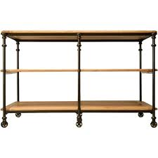 iron kitchen island custom steel work table or kitchen island for sale at 1stdibs