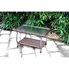coffee table brown wicker coffee table round outdoor coffee