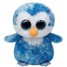 ty beanie boos ice cube penguin ebay