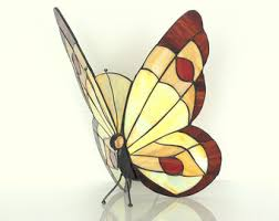 Stained Glass Wall Sconce 12 Style Butterfly Sconce L Crafted
