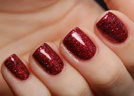 cute glitter nail ideas how you can do it at home pictures
