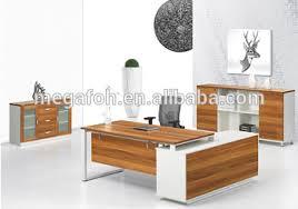 bureau moderne design melamine executive table furniture bureau moderne mobilier foh