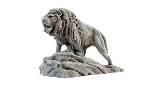 lion statue lion sculpture 3d model decor cgtrader