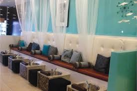 Salon Decordesign Encyclopedia NAILS Magazine - Nail salon interior design ideas