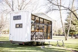 homes on wheels atlas a 196 square foot tiny house on wheels by f9 productions
