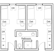 100 floor pla insight of 3 bedroom 3d floor plans in your